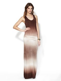 Hampton Gathered Maxi Dress by Young Fabulous & Broke on Gilt.com