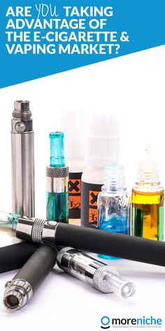 The e-cigarette craze has taken the world by storm. Ever since their launch onto the market in 2004, global e-cigarette usage has continued to rise and shows no signs of slowing yet. The MoreNiche affiliate network currently has twelve e-cigarette and vaping affiliate programs available to promote, making it one of the biggest and most profitable niches within the network.
