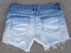 goodwill jeans into shorts Archives - Inexpensive Chic Diy Summer Clothes, Summer Diy, Summer Outfits, Cute Outfits, Diy Fashion, Spring Fashion, Diy Shorts, Diy Clothing, Diy Stuff