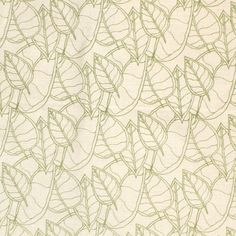 Printed Linen: Fall Lime