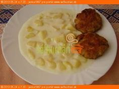 Slovak Recipes, Czech Recipes, Ethnic Recipes, What To Cook, Summer Recipes, Ham, Mashed Potatoes, Recipies, Food And Drink