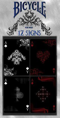 1Z SIGNS Bicycle® Playing Cards! by Yuk Wah — Kickstarter
