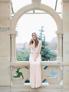 Blush dotted maxi skirt as worn by LAURA JANSEN by Rensche Mari #swishdresses #ss14 Boudoir, Portraits, White Dress, Gowns, Bespoke, Skirts, How To Make, Blush, Dresses