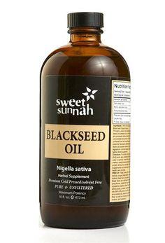 Sweet Sunnah / Pure Blackseed Olie (480 ml)