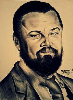 Leonardo DiCaprio  Custom Portrait To Order I will Paint a