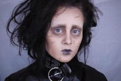 Planning on being Edward Scissorhands this Halloween? The costume just isn't quite complete without the right makeup!