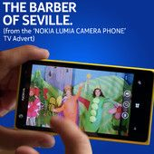 """The Barber of Seville (From the """"Nokia Lumia Camera Phone"""" TV Advert)"""