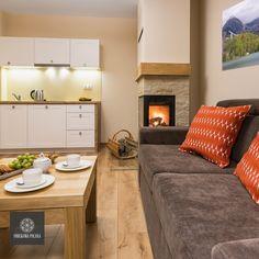 Apartament Wiosenny - zapraszamy! #poland #polska #malopolska #zakopane #resort #apartamenty #apartamentos #noclegi #livingroom #salon #fireplace