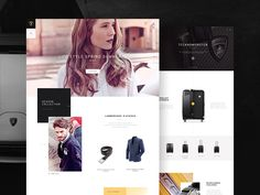 Hello there! I'm really glad that I can share with you the my project Lamborghini.  Soon on Behance case study.