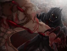 Broken Fang vs Van Helsing by LycanthropeHeart.deviantart.com on @deviantART