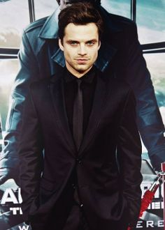 Sebastian Stan. there's a lotta smoulder-action going on here hahaha