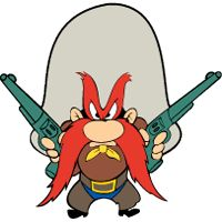 A perennial list of favorite Yosemite Sam Quotes, threats, & wisecracks, predominantly aimed in the direction of Bugs Bunny . Looney Tunes Characters, Classic Cartoon Characters, Looney Tunes Cartoons, Favorite Cartoon Character, Classic Cartoons, Disney Characters, Fantasy Characters, Comics Und Cartoons, Old School Cartoons