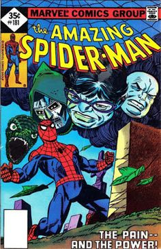 Marvel Uncertified No VF Bronze Age Spider-Man Comics Dr Doom Marvel, Marvel Comics, Comics Spiderman, Hq Marvel, Marvel Comic Books, Comic Books Art, Marvel Characters, Marvel Heroes, Amazing Spider Man Comic