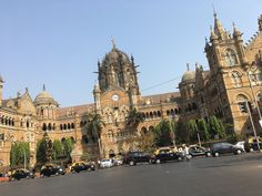 VT Station Bombay Mumbai www.trudyannschai.com India Travel, Mumbai, Big Ben, Barcelona Cathedral, Building, Pictures, Photos, Buildings, Photo Illustration