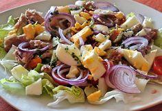 Kale Caesar Salad, Clean Eating, Alfredo Sauce, Meatless Monday, Diy Food, Salad Recipes, Potato Salad, Food Porn, Dinner Recipes