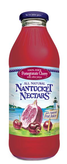 Nantucket Nectars -  Pomegranate Cherry!!! I can only find it at chipotle, and I don't always spring for it, but it is yummy!!!