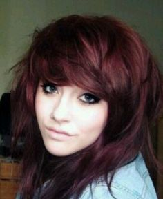 If I ever went to a natural color, it would probably be this, maybe a bit more burgundy