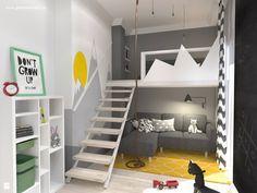 Pokój dziecka styl Skandynawski - zdjęcie od Gabinet Wnętrz - Recepta na dobre wnętrze - Pokój dziecka - Styl Skandynawski - Gabinet Wnętrz - Recepta na dobre wnętrze