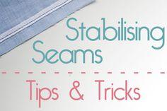 Stabilising Seams - Tips & Tricks - Jennifer Lauren Vintage