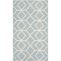 The classic geometric motifs of Safavieh's flat weave Dhurrie Collection are equally at home in casual, contemporary, and traditional settings. We use pure wool to best recreate the original texture and soft colorations of antique dhurries prized by Dhurrie Rugs, Contemporary Area Rugs, Blue Ivory, Online Home Decor Stores, Woven Rug, Colorful Rugs, Rug Size, Hand Weaving, Blue Wool