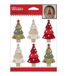 Jolee's Christmas Stickers-Christmas Trees