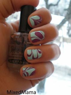 How To Water Marble your Nails In 5 Easy Steps