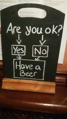 Blackboard - beer