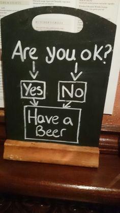 Blackboard - beer