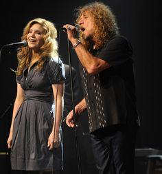 Alison Krauss and Robert Plant...
