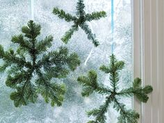 Decorate with winter greens | Why limit yourself to a Christmas tree? Deck the halls, walls, tables, and more with conifer cuttings
