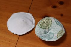 DIY Nursing Pad Tutorial-- super easy instructions on how to make your own reusable nursing pads.