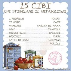 Stimolare il metabolismo