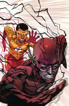 Check out the full DC Comics November 2017 solicitations, featuring more than 100 images of the titles that will be hitting store shelves later this year. Comic Book Characters, Comic Character, Comic Books Art, Comic Art, Book Art, Wally West, The Flash, Flash Wallpaper, Flash Comics