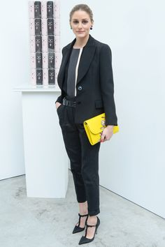 Narciso Rodriguez Bottletop collection launch, New York - May 8 2014  Olivia Palermo wore an outfit by Narciso Rodriguez.