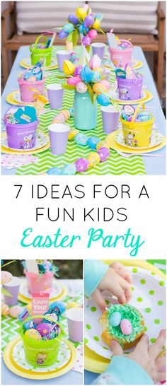 7 Fun Ideas for a Kids Easter Party!