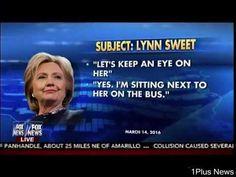 Clinton Corral - Hackers Exposes Campaign Staff Surveillance - Fox & Friends   1Plus News