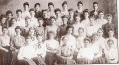 The Delta Chapter— our oldest active chapter— in 1905.