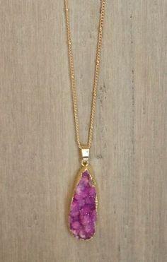 Rock Me Amadeus - Purple Necklace