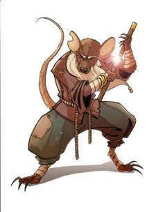 Master Splinter by Karate-Chop