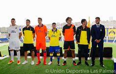 Presentadas las equipaciones Acerbis de la UD Las Palmas 2016-2017