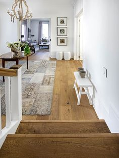 Natural wood is in a league of it's own! The beautiful patterns in the woodgrain give this flooring such character and is such a pleasure to the eye The neutral tones compliment every bit of the house giving it a mesmerizing feel and touch Decor, Wood, Engineered Wood, Interior Decorating, Wooden Flooring, Decor Interior Design, Home Decor, Flooring, Interior Design