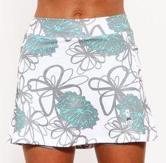 caribbean mums athletic skirt