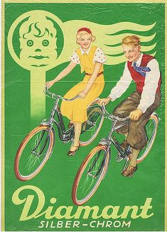 Alberto created a poster on checkthis, the most beautiful way to create and share stunning posters with friends and family. Old Bicycle, Bicycle Race, Vintage Advertisements, Vintage Ads, Art Deco Paintings, Bike Illustration, Retro Bike, Bike Poster, Vintage Cycles