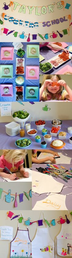 Young Chefs Party on Weelicious.com (from Daisy at Home)
