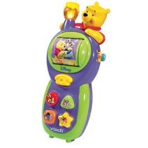 VTech - Call n Learn Phone Keep in touch with educational role-play fun featuring Winnie the Pooh and friends. Features 3 http://www.comparestoreprices.co.uk/educational-toys/vtech--call-n-learn-phone.asp