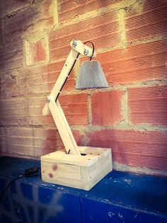 Pallets Wood #Lamp - Make Your Own Pallet Lamp   99 Pallets