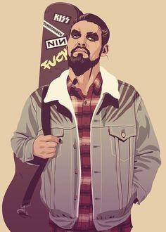 http://moshi-kun.tumblr.com/. - GOT Khal Drogo