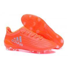 Billige Fodboldstøvler Tilbud - Adidas X 16.3 FG/AG - Solar Rød/Sølv Metallic/Hi-Res Rød