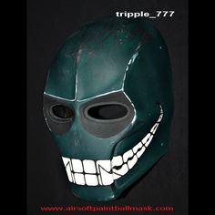 About the masks CUSTOM COSTUME COSPLAY ARMY of TWO PAINTBALL BB GUN AIRSOFT MASK HELMET GOGGLES S2 Green Smiley MA100 we Color : Follow the pict