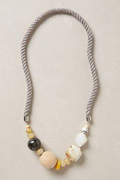 inspiration: Nebula Rope Necklace by Anthropologie Rope Jewelry, Amber Jewelry, Jewelry Shop, Jewelry Stores, Sterling Silver Jewelry, Jewelery, Jewelry Accessories, Handmade Jewelry, Fashion Jewelry